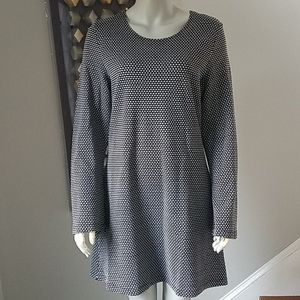 Bryn Walker Mod Print A-Line Dress Medium